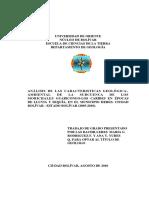 006-Tesis-Analisis de Las Caracteristicas Geologica-Ambiental de La Subcuenca de Los Moricgales