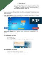TEMA N° 03 - El Sistema Operativo