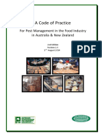 Code of Practice for Pest Management in the Food Industry