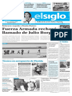 Edición Impresa Elsiglo 07-01-2017