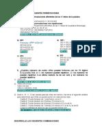 EJERCICIOS DE  PERMUTACIONES Y COMBINACIONES