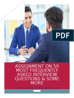 HR Questions for Absolute Freshers