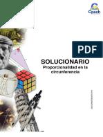 Solucionario Guía Práctica Proporcionalidad en La Circunferencia 2013