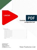 LiteEdit 5.4.0 New Features List