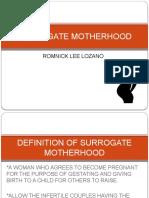 surrogate motherhood
