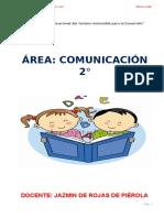 SEPARATA DE 2° de secundaria comunicacion