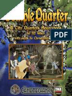 D&D 3rd Ed.-city Quarters-Temple Quarter