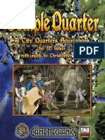 D&D 3rd Ed.-city Quarters-Temple Quarter
