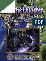 D&D 3rd Ed.-city Quarters-Arcane Quarter