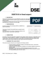 056-054 7510 in Fixed Export