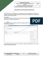 Instructivo de Acceso Al Simulador Del Cuestionarios Ser Bachiller 2016 - 2017
