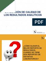 Sesión 02 Tratamiento y Evaluación de Resultados Analíticos