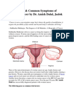 Risk Factors & Common Symptoms of Ovarian Cancer by Dr. Amish Dalal, Jaslok