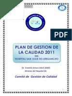 Plan de Gestion de La Calidad 2011
