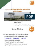 Caso Clinico de Neurologia Pediatrica Para La AMN