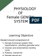 Physiology of Female Genital-2015 Final