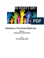 Celebration of the Human Rights Day