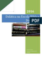 Didatica Na Ebd