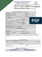 1 Form de Examen de Admision