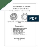 Vacuna Contra La Haemophilus Influenzae Tipo B - Grupo 8 - 2015