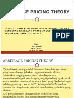 Bab 9. Arbitrage Pricing Theory