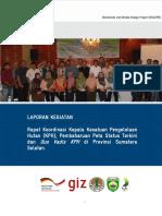 Report RakorKPH SumSel2016 14 Juni