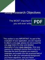 A Mine f Study Objective