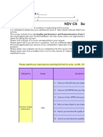 NDV Factory_CS_survey (Quarter) - FQ1'16