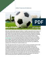 Daftar Agen Judi Bola Online Terpercaya Di Indonesia