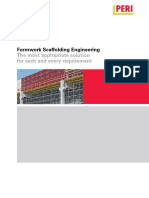 Peri Formwork Scaffolding Engineering