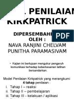 model penilaian kirkpatrick