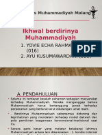 Ikhwal berdirinya muhammadiyah