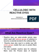 10-Dyeing Cellulosic With Reactive Dyes
