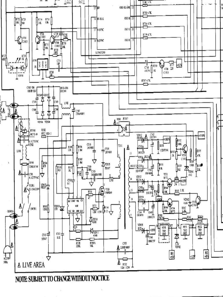 fuente con l6565 pdfHome Images 21ctv5st Schematic Diagram 21ctv5st Schematic Diagram #4