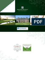 Brochure Halcyon Retreat