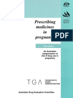 Prescribing Medicine in Pregnancy, By Australian Drug Evaluation Committee