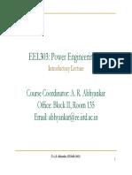 EEL303 L1 Introduction