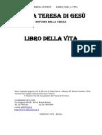 Librodellavita- Teresa d'Avila