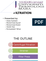 Physical Treatment - Filtration