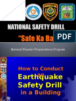 Earthquake Drill for Buildings