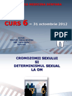 CURS 6 Genetica MD - 31 Octombrie 2012