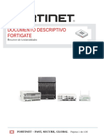 FORTINET DocumentoDescriptivo FortiGate 2016