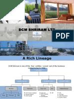 DCM Shriram Corporate