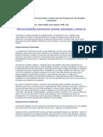 Estructuras Organizacionales y Direccion de Proyectos_Jorge Valdes Garciatorres