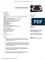 BBC Food - Recipes - Traditional Christmas Pudding With Brandy Butter