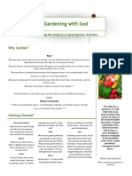 Gardening With God 1