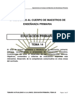 1. Tema 14 Primaria