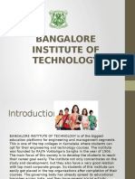 Banglore Institute of Technology