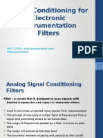 Signal Conditioning Filters