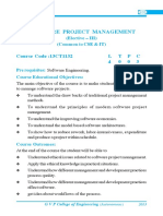 Software Project Managment